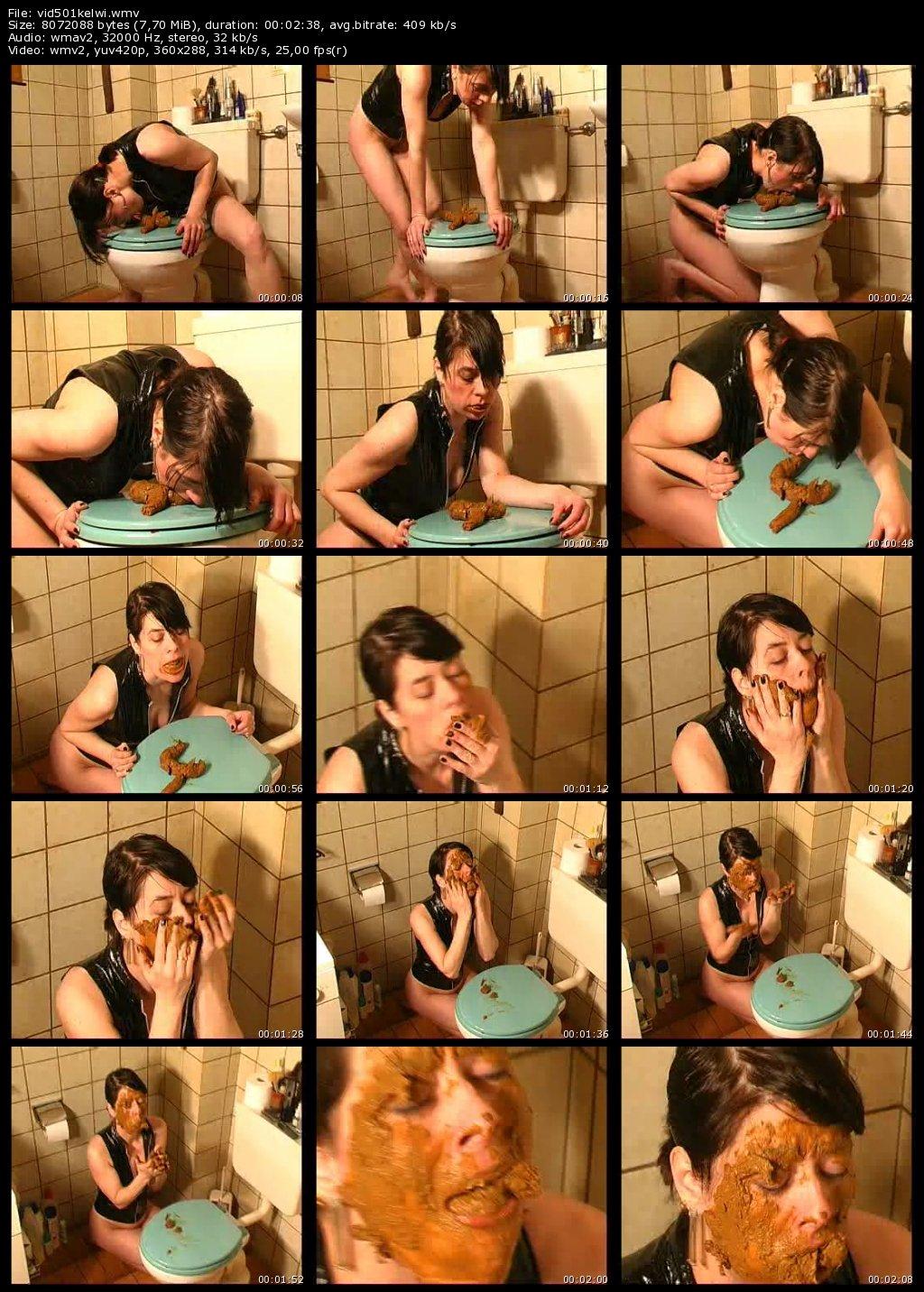 Ingrid Show - Self Copro Eating