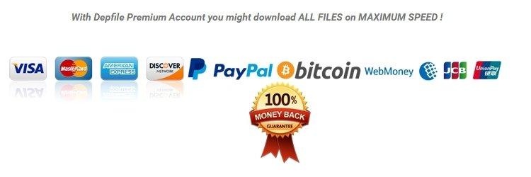 Depfile Premium Account