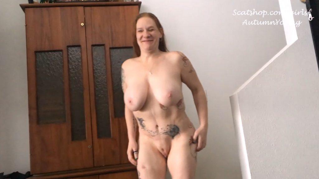 3 Pushing Grunting Shits Then Cum - Foot Fuck Dirty BJ Panty Poop (Part 3 ) - 1