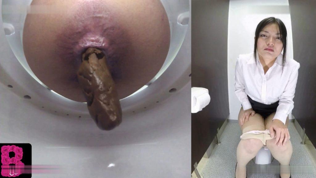 BFBY-03 Beayty schoolgirls pooping in toilet room - 1