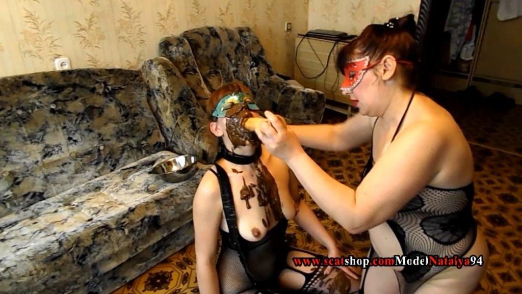 ModelNatalya94 very filthy scat play perversion - 4