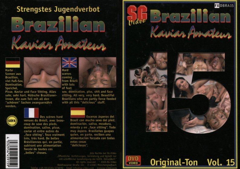 Brazilian Kaviar Amateur 15 (SG Video)